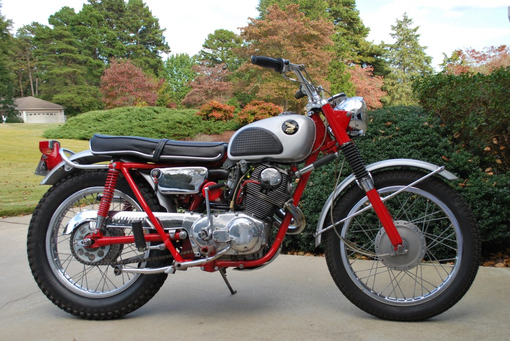 Honda Cl Motorcycle For Sale